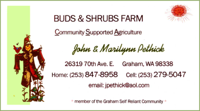 Buds and Shrubs Farm