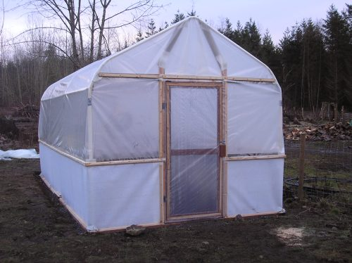 Carport greenhouse conversion | Construction and DIY ...